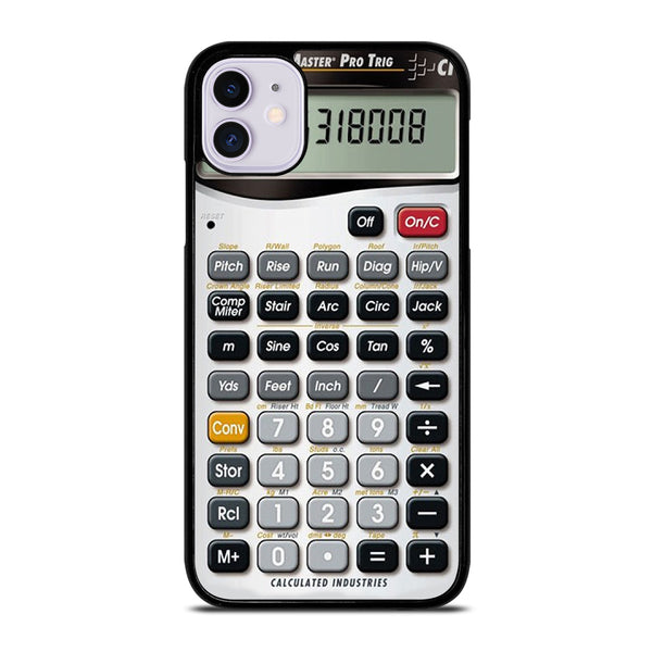 CALCULATOR FUNNY iPhone 11 Case