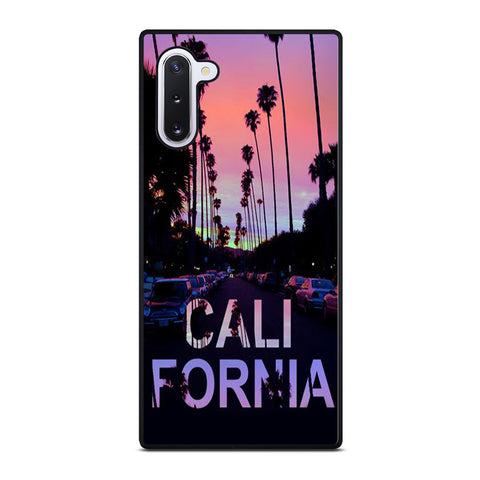 CALI CALIFORNIA BEACH Samsung Galaxy Note 10 Case
