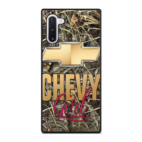 CAMO CHEVY GIRL Samsung Galaxy Note 10 Case