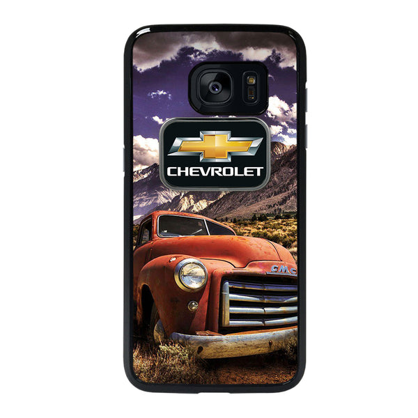 CHEVY CLASSIC TRUCK #1 Samsung galaxy s7 edge Case