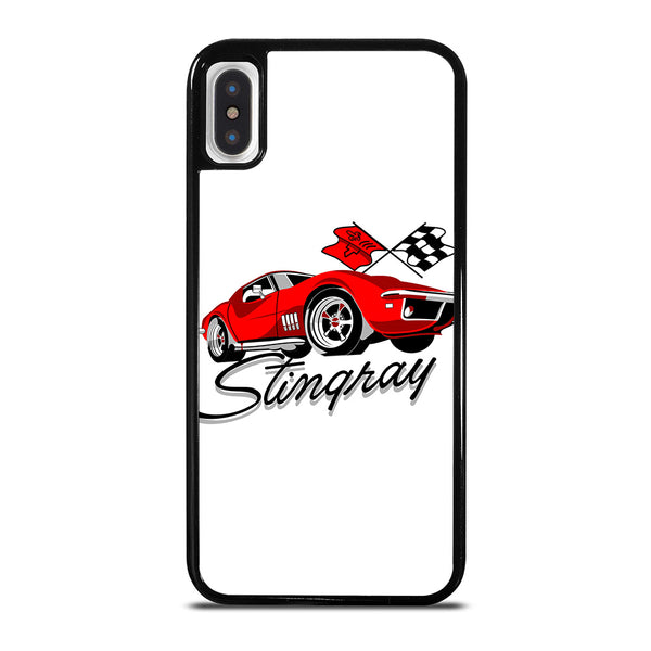 CHEVY RED CAR CARTOON iPhone X / XS Case