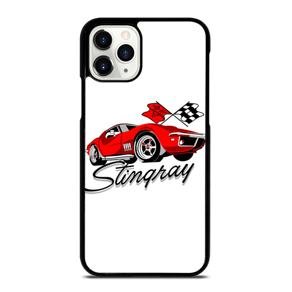 CHEVY RED CAR CARTOON iPhone 11 Pro Case