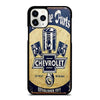CHEVY RETRO CAR POSTER iPhone 11 Pro Case