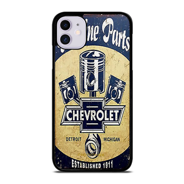 CHEVY RETRO CAR POSTER iPhone 11 Case