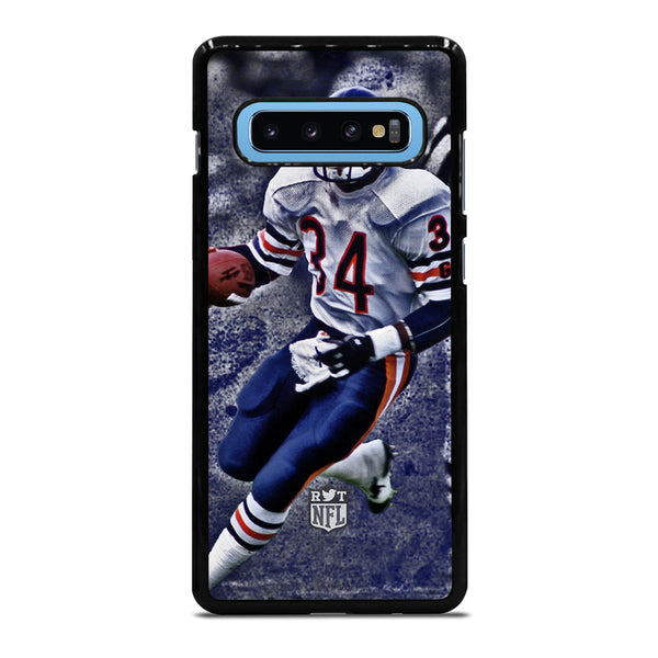 CHICAGO BEARS WALTER PAYTON 34 1 Samsung Galaxy S10 Plus Case