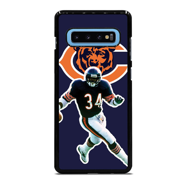 CHICAGO BEARS WALTER PAYTON Samsung Galaxy S10 Plus Case