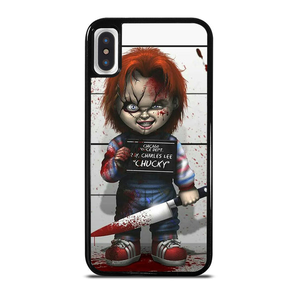 CHUCKY DOLL WITH KNIFE iPhone X / XS Case