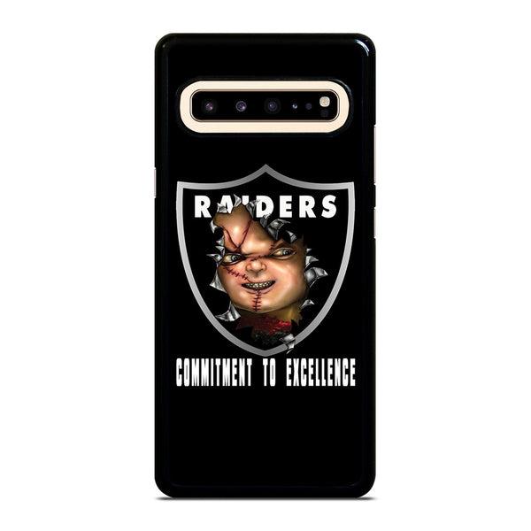 CHUCKY OAKLAND RAIDERS 1 Samsung Galaxy S10 5G Case