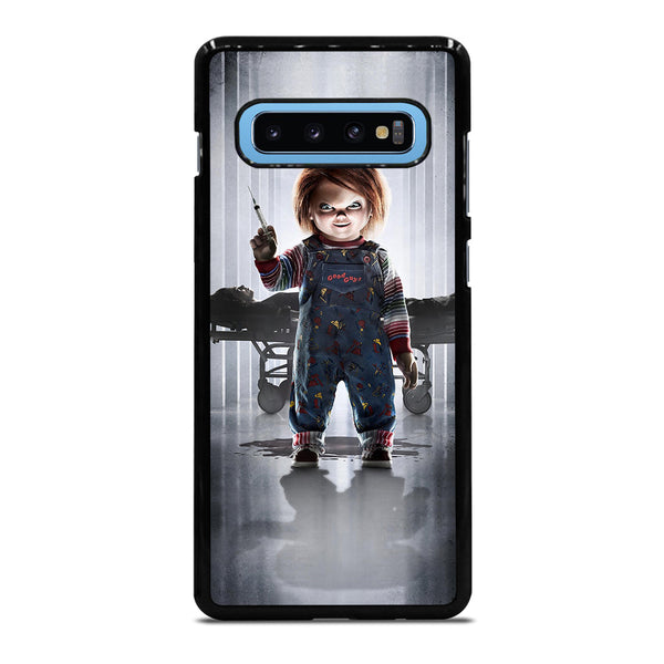 CHUCKY SCARY DOLL 1 Samsung Galaxy S10 Plus Case