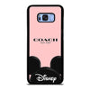 COACH NEW YORK DISNEY #1 Samsung Galaxy S8 Plus Case