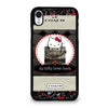 COACH NEW YORK KITTY iPhone XR Case