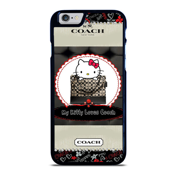 COACH NEW YORK KITTY iPhone 6 / 6S Case