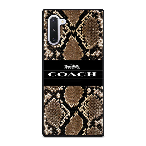 COACH NEW YORK SIGNATURE CITY Samsung Galaxy Note 10 Case