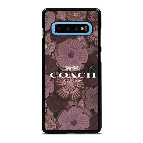 COACH NEW YORK TEA ROSE 2 Samsung Galaxy S10 Plus Case