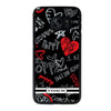 COACH POPPY BLACK Samsung galaxy s7 edge Case