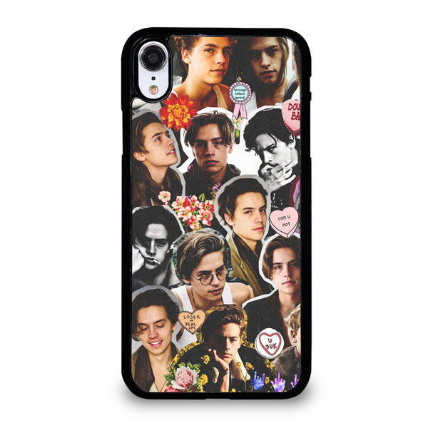 COLE SPROUSE COLLAGE #2 iPhone XR Case