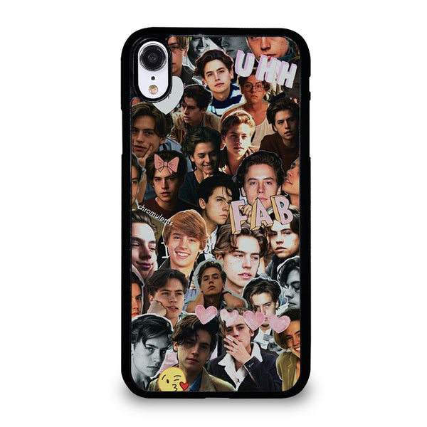 COLE SPROUSE COLLAGE iPhone XR Case