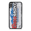 COORS LIGHT BEER #3 iPhone X / XS Case