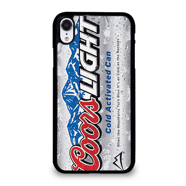 COORS LIGHT BEER 3 iPhone XR Case