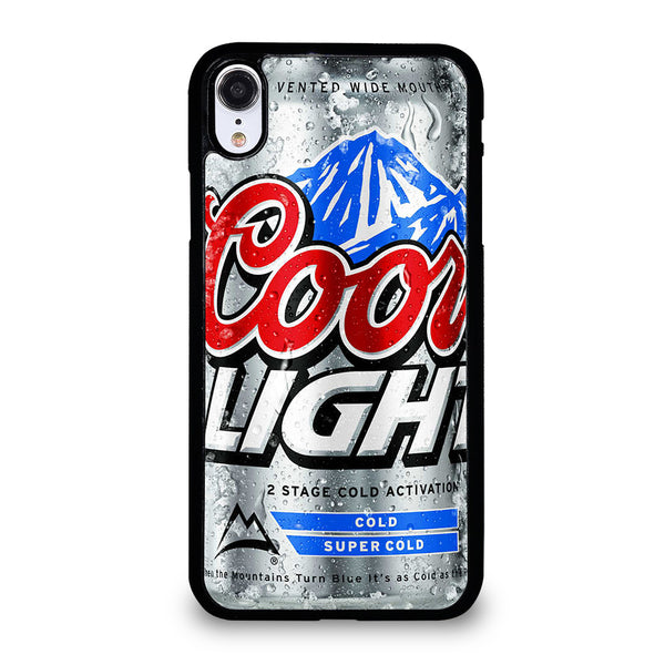 COORS LIGHT BEER #4 iPhone XR Case