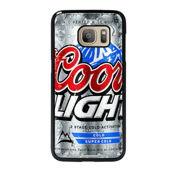 COORS LIGHT BEER #4 Samsung Galaxy S7 Case