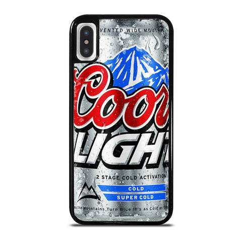 COORS LIGHT BEER #4 iPhone X / XS Case
