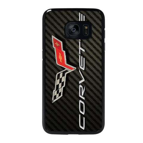 CORVETTE CARBON Samsung galaxy s7 edge Case