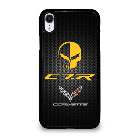 CORVETTE RACING JAKE SKULL iPhone XR Case