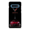CORVETTE STINGRAY C8 RED CAR Samsung Galaxy S10 Plus Case