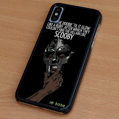 Daniel Dumile Mf Doom Quotes iPhone Case