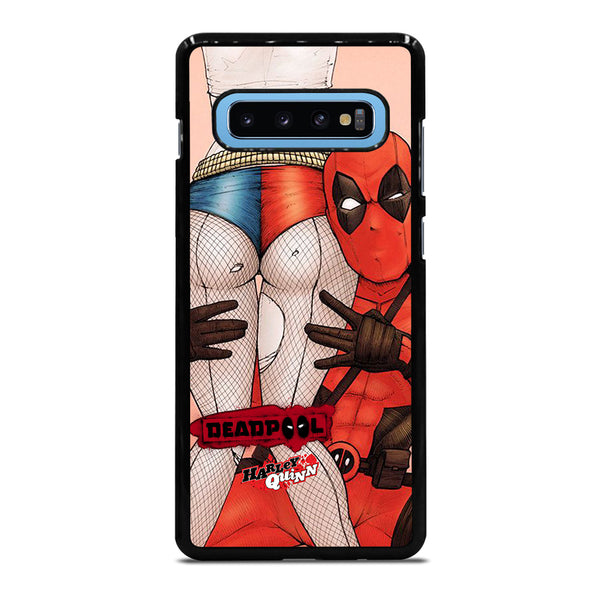 DEADPOOL HARLEY QUINN #1 Samsung Galaxy S10 Plus Case