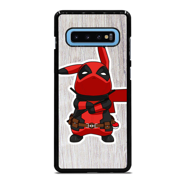 DEADPOOL POKEMON PIKACHU 3 Samsung Galaxy S10 Plus Case