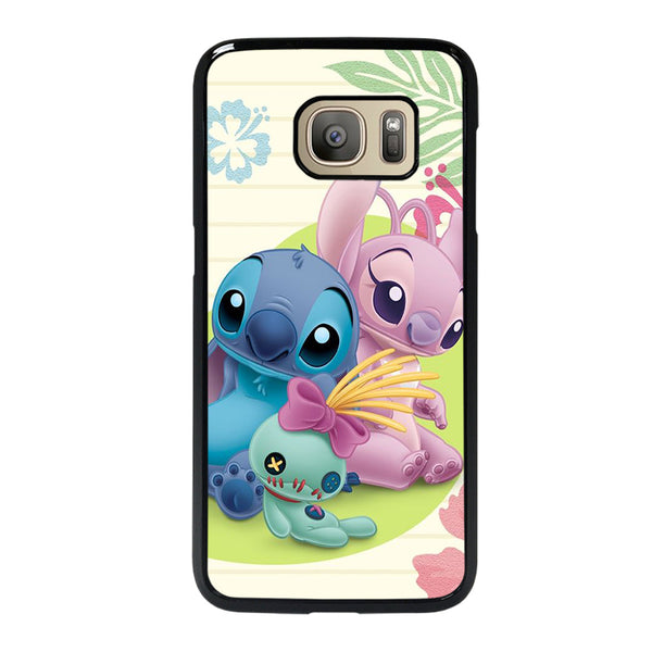 DISNEY STITCH AND GIRLFRIEND Samsung Galaxy S7 Case