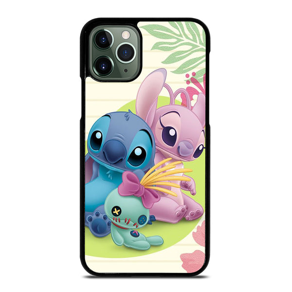 DISNEY STITCH AND GIRLFRIEND iPhone 11 Pro Max Case