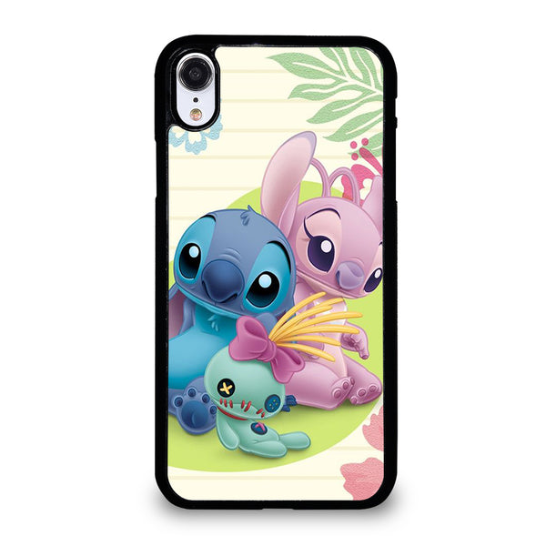 DISNEY STITCH AND GIRLFRIEND iPhone XR Case