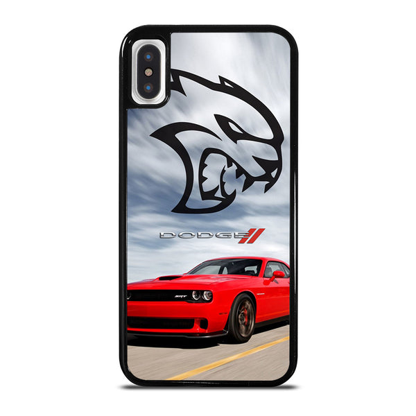 DODGE CAR DEMON LOGO RED #2 iPhone X / XS Case