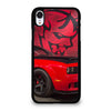 DODGE CAR DEMON LOGO RED iPhone XR Case
