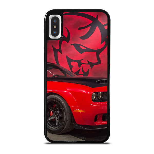 DODGE CAR DEMON LOGO RED iPhone X / XS Case