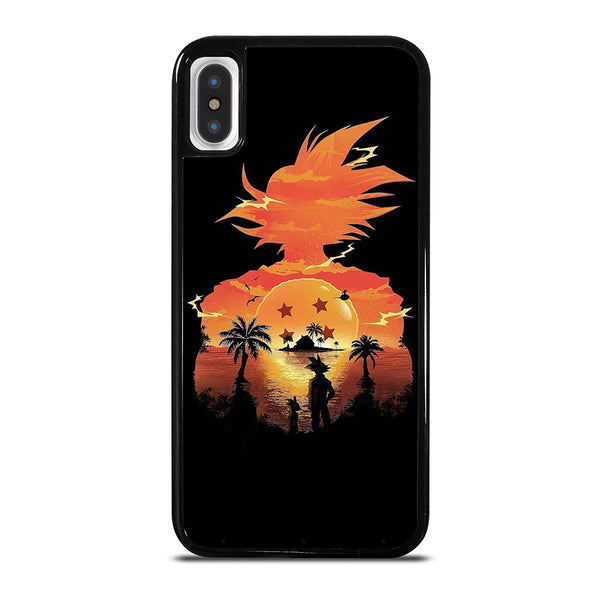 DRAGON BALL GOKU SILHOUETTE iPhone X / XS Case