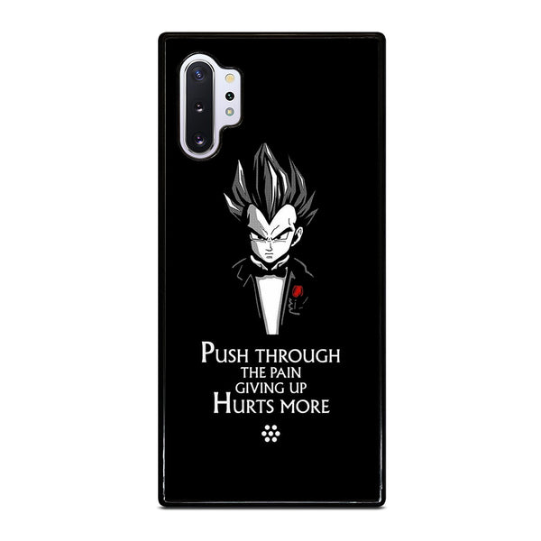 DRAGON BALL Z VEGETA QUOTE #1 Samsung Galaxy Note 10 Plus Case