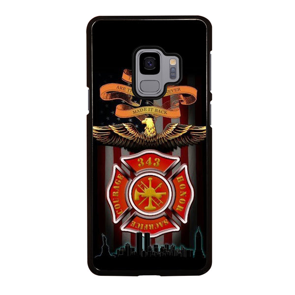 FIREFIGHTER QUOTES FIRE DEPT Samsung Galaxy S9 Case