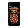 FIREFIGHTER QUOTES FIRE DEPT iPhone X / XS Case
