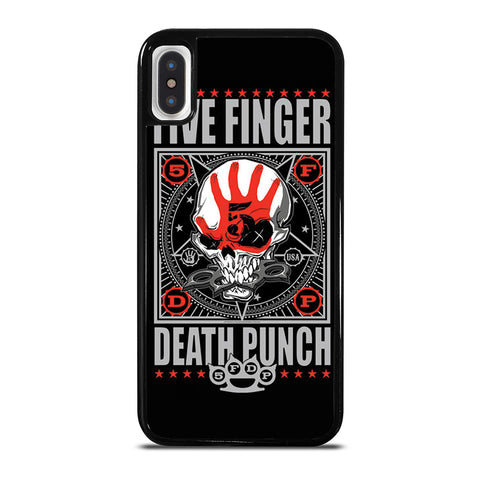 FIVE FINGER DEATH PUNCH #3 iPhone X / XS Case