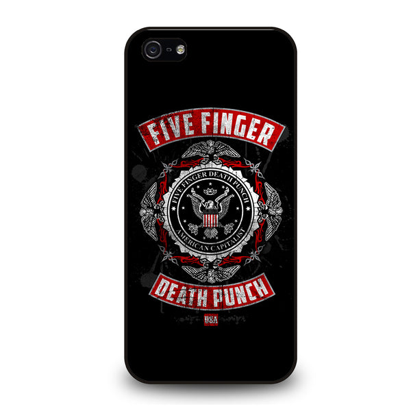 FIVE FINGER DEATH PUNCH iPhone 5/5S/SE Case