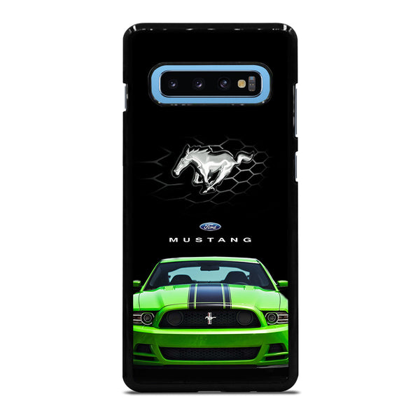FORD MUSTANG GREEN Samsung Galaxy S10 Plus Case