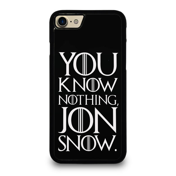 GAME OF THRONES KNOW NOTHING JON SNOW 2 iPhone 7 / 8 Case