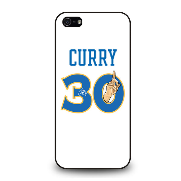 GOLDEN STATE WARRIORS STEPHEN CURRY 3 iPhone 5/5S/SE Case
