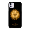GOLD KATE SPADE LOTUS iPhone 11 Case