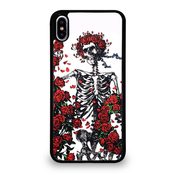 GRATEFUL DEAD BONES AND ROSES iPhone XS Max Case
