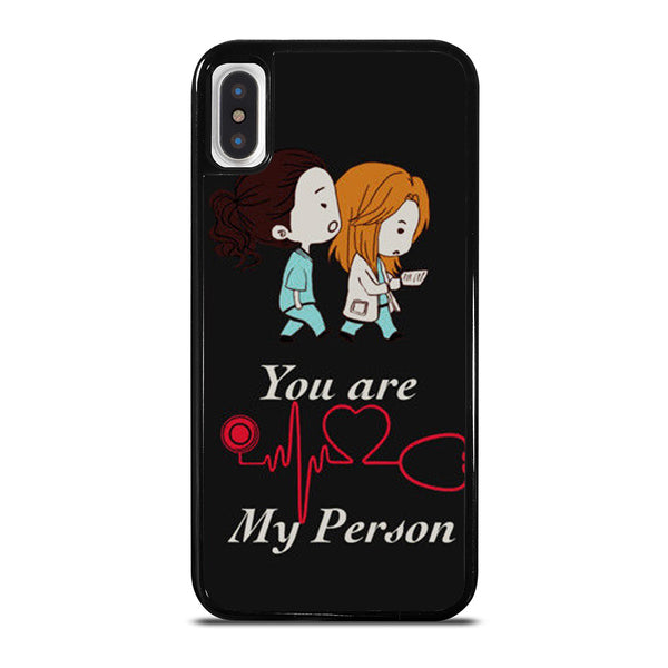 GREY' S ANATOMY YOU'RE MY PERSON #1 iPhone X / XS Case